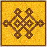 Cheri's glyph quilt pattern