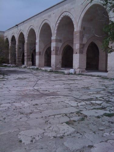 caravanserai courtyard