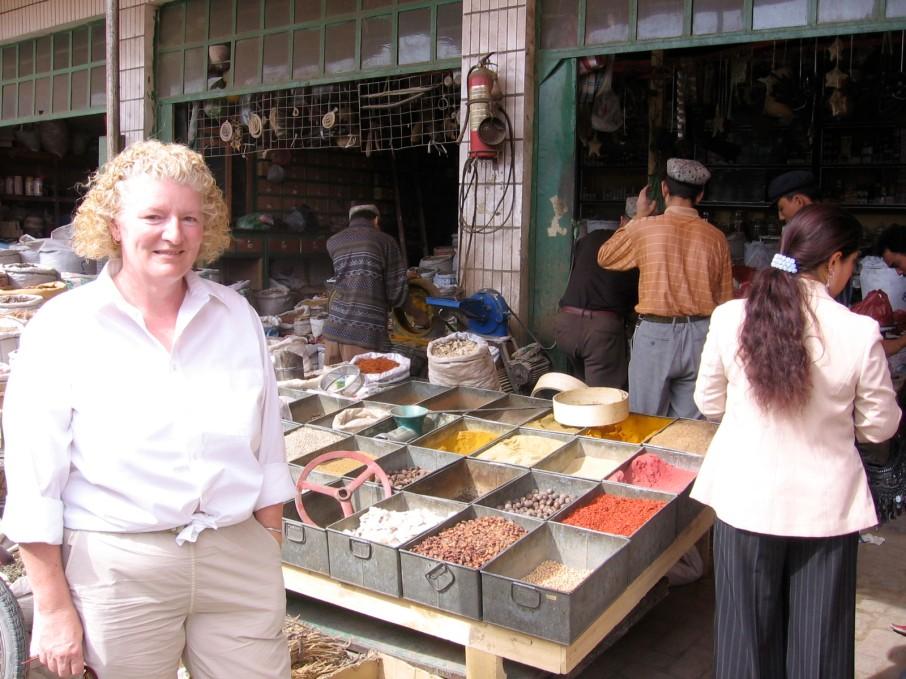 The Yarkand spice market