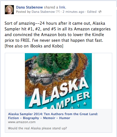 Alaska Sampler FB post
