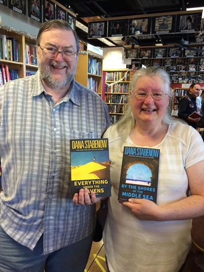 Rodney and Laurel (a Danamaniac!) drove over from Albuquerque for their copies.