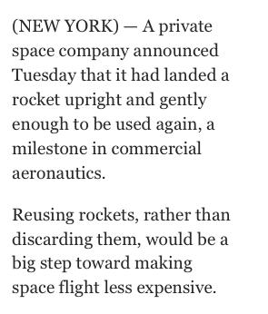 reusable rockets